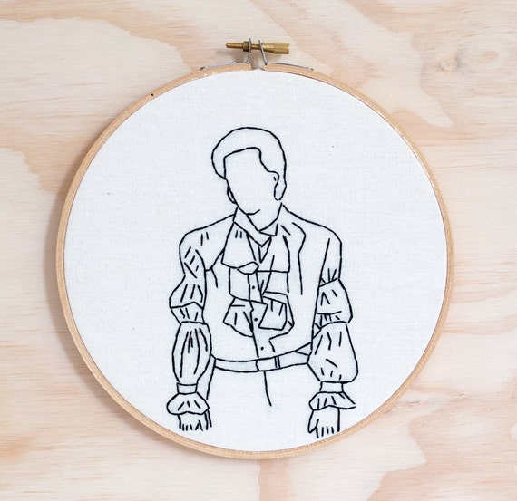 Seinfeld Puffy Shirt Embroidery