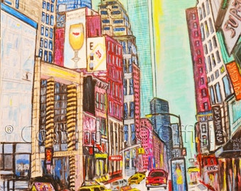 Abstract painting  New York abstract art  painting original abstract art wall  painting