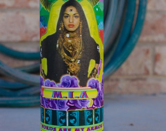 Honoring M.I.A Candle: Limited Edition (5)