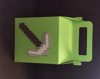 Minecraft Inspired Goodie Boxes