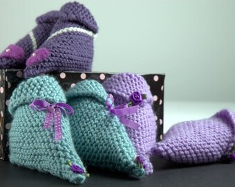 Slippers for baby handmade by Creations Smoké