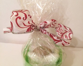 Mint and Chocolate Gift Basket, Spa gift Basket, Small