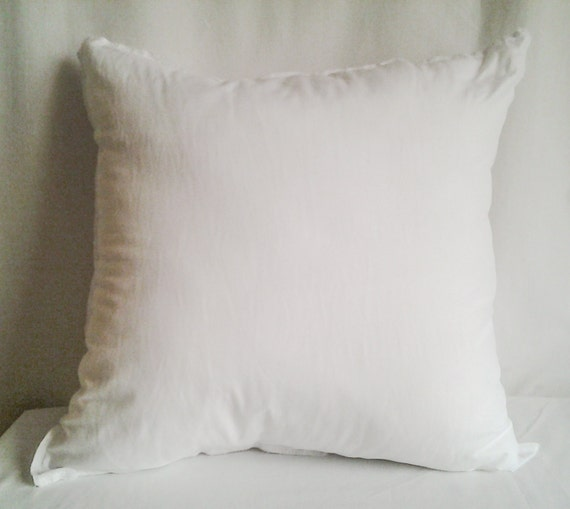 Throw Pillow Inserts 18 X 18 : 18x18 Pillow Insert Pillow Form Accent Pillow Form Insert
