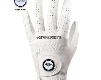 Baltimore Ravens Golf Glove & Ball Marker