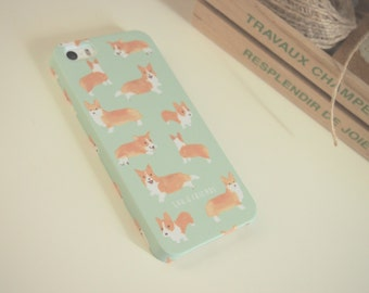 Corgi Case for iPhone 7/7+, 6/6s ,6+,  5/5s, 4/4s