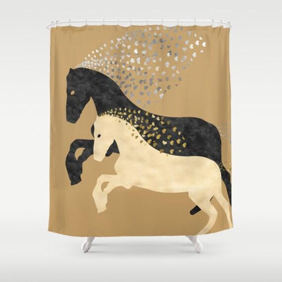 Horse bathroom decor