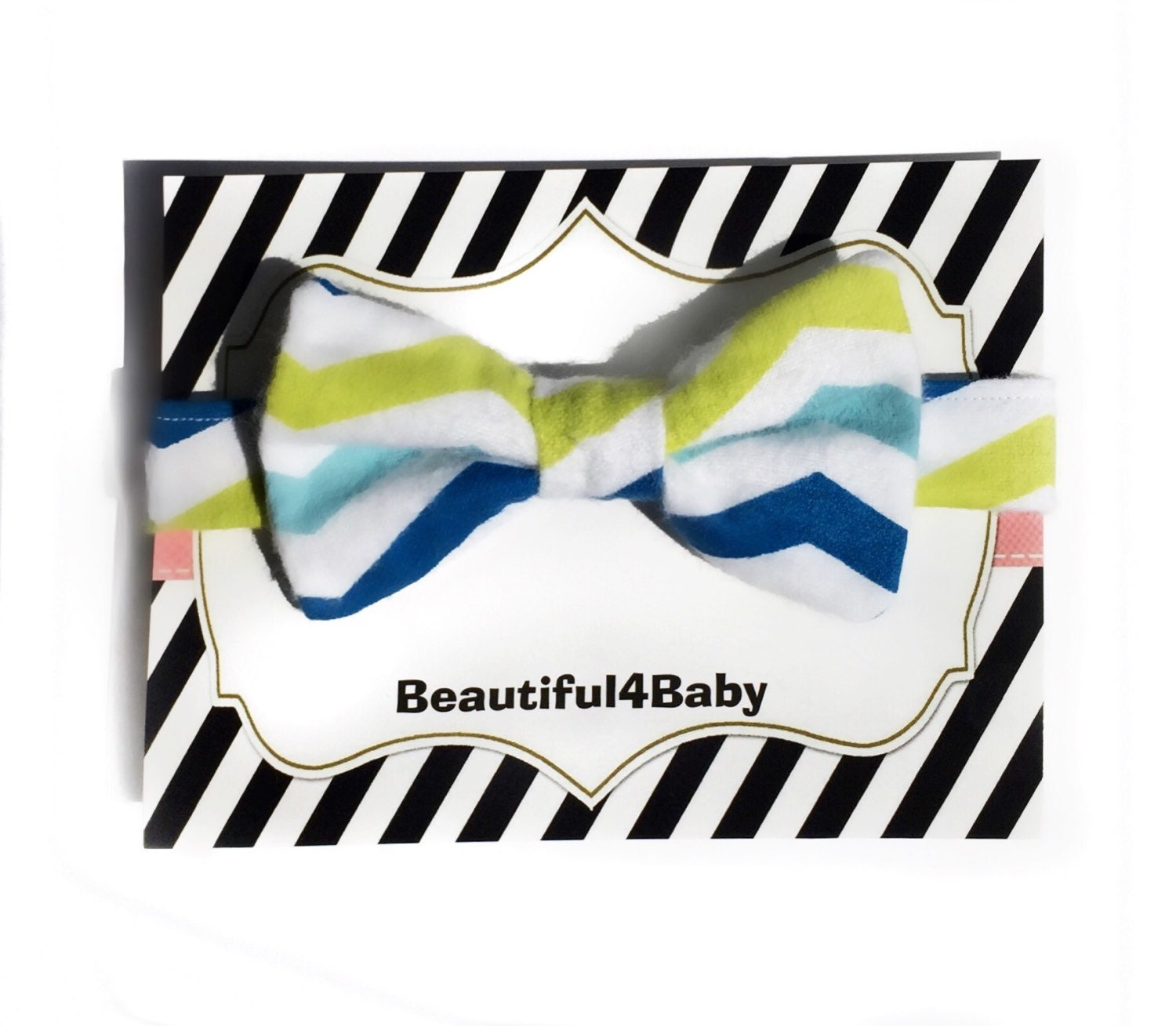 chevron baby bow tie baby boy bow tieinfant bow by