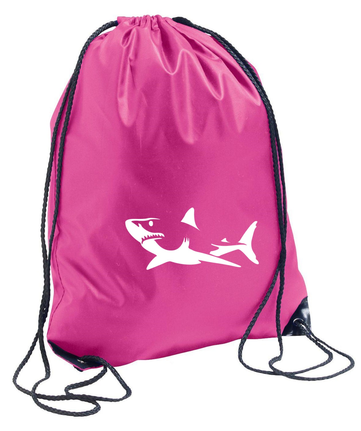 Gym Bag And Backpack: Shark Gym Bag Backpack By ClaudioCrissi On Etsy