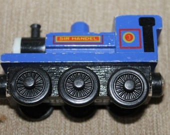 Sir Handel, Thomas the Train Piece, Magnetic, Face on Front
