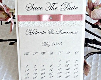 Wedding Save the date fridge magnet