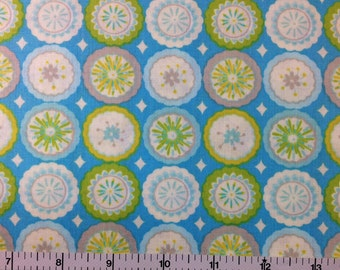 Westminster KUMARI GARDEN (BLUE Color) 100% Cotton Premium Fabric   Sold By  1