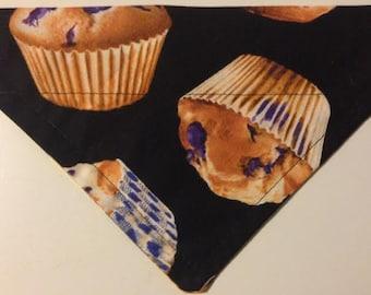 Blueberry Muffin Dog Bandana