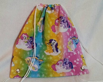 My Little Pony Drawstring Bag - Ready to Ship