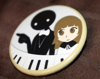 "Deemo - 1.5"" inch button"