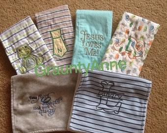 Burps cloths