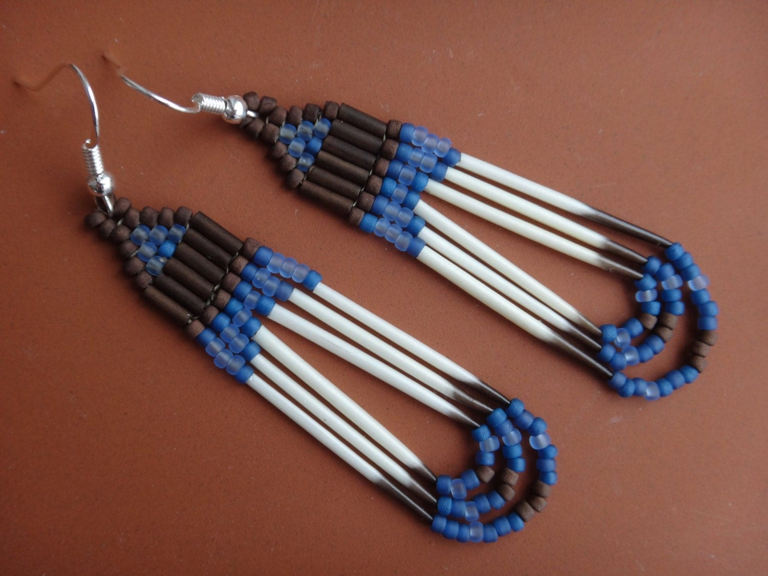 Porcupine Quill Jewelry Porcupine quills earri...