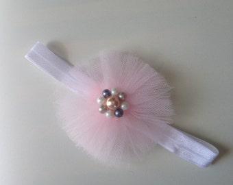 Ballerina baby headband