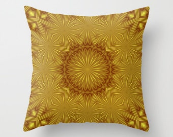 Decorative Throw Pillow Cover - 4 different sizes to Choose From, Square or Rectangular, Double-sided print, For Indoors or Outdoors