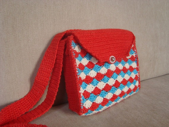 Crochet Bag For Kids : Bag, Crochet Childs Bag, Gifts for Kids, Small Bag, Small Crochet Bag ...