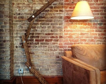 Rustic Arm Lamp