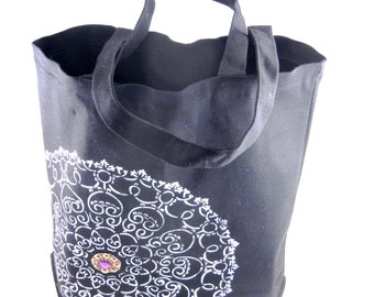 Hand Painted Canvas Tote Bags