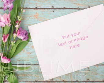 Styled Stock Photography / Blank Envelope / Mock up / Card Design / Card Mock up / Styled Envelope / JPEG Digital Image / StockStyle-376-2