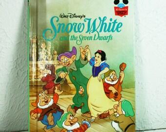 Walt Disney's SNOW WHITE  Children's Book 1994