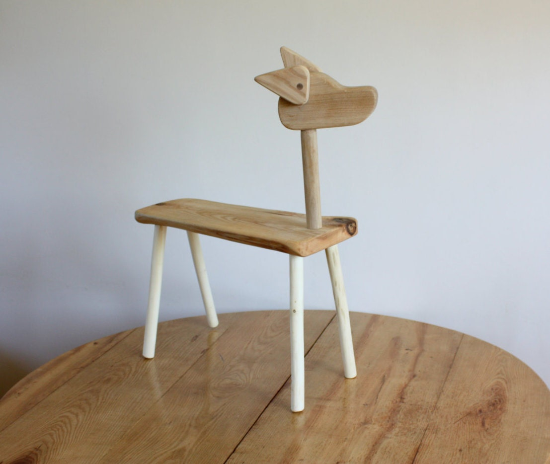 wooden dog bench for kids baby showers eco by goodmoodwoods