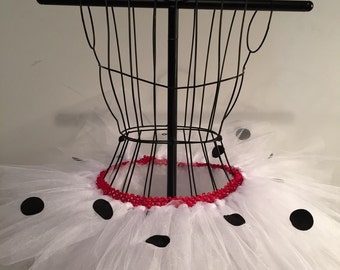 Dalmatian  Running Tutu - Inspired by Disney - Puppy Run - Disney Run Tutu
