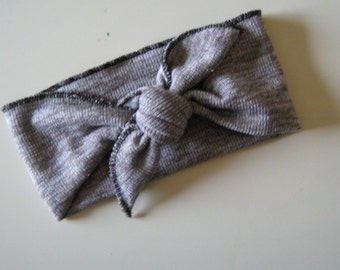 Heather Gray Turban Knot