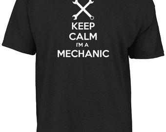 Keep calm I'm a mechanic t-shirt