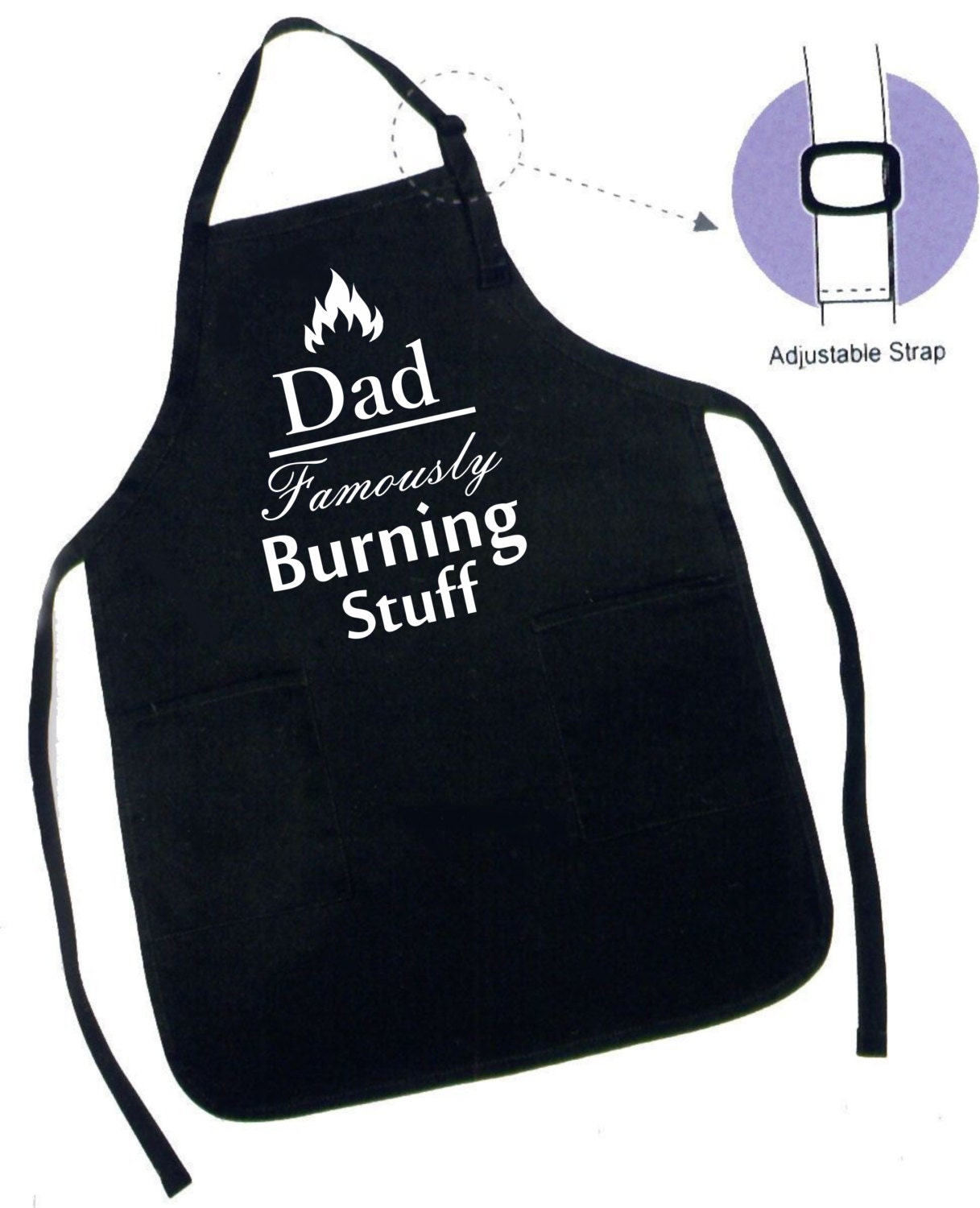 Amazon.com: Dad Apron, Dad Cooking Gift, Keep Calm, Dads