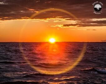 Sunset Print, Photography Print, calm print, dreamy mood, natural light