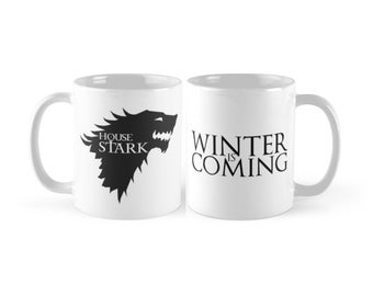 "Game  of Thrones - House Stark ""Winter Is Coming"" Mug"