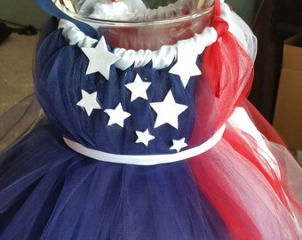 4th of July flag TUTU dress.. 2T to 4T .. Ready to ship today!