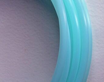 Custom Size UV Aquamarine Polypro Hula Hoop