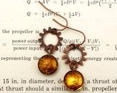 Steampunk Earrings - Stea...