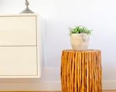 Wood stool / Counter stool / Mango wood