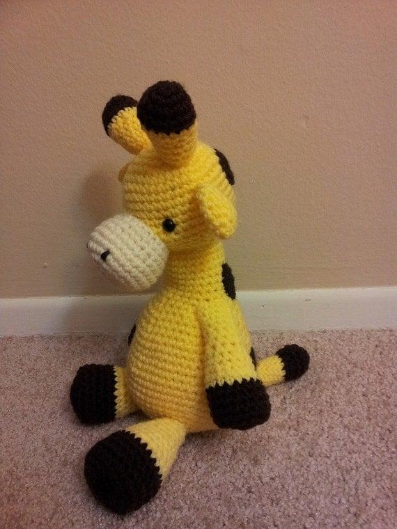 Cuddly Amigurumi Giraffe : Amigurumi crochet stuffed giraffe