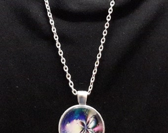 Butterfly Fractal Necklace