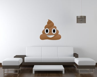 Custom Made Vinyl Wall Decals And Stickers By TheDecalBros On Etsy - Emoji wall decals