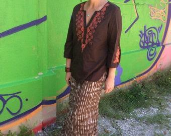 Boho Long Skirt