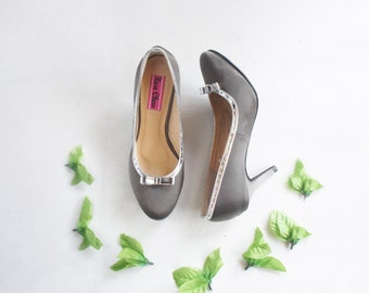 shop grey wedding shoes in womens shoes