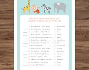 Free Celebrity Baby Shower Games - Baby Shower Ideas ...