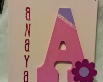 Wooden Letter for Nursery