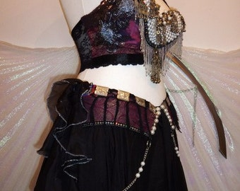 "Tribal Fusion Bellydance Costume ""Salome"", Size M"