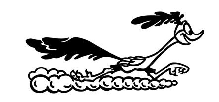 Vinyl Decal Of The Road Runner From Buffyscollectables On