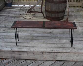 industrial wood furniture. reclaimed wood bench industrial vintage furniture urban a