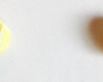 Lemon Earrings E183