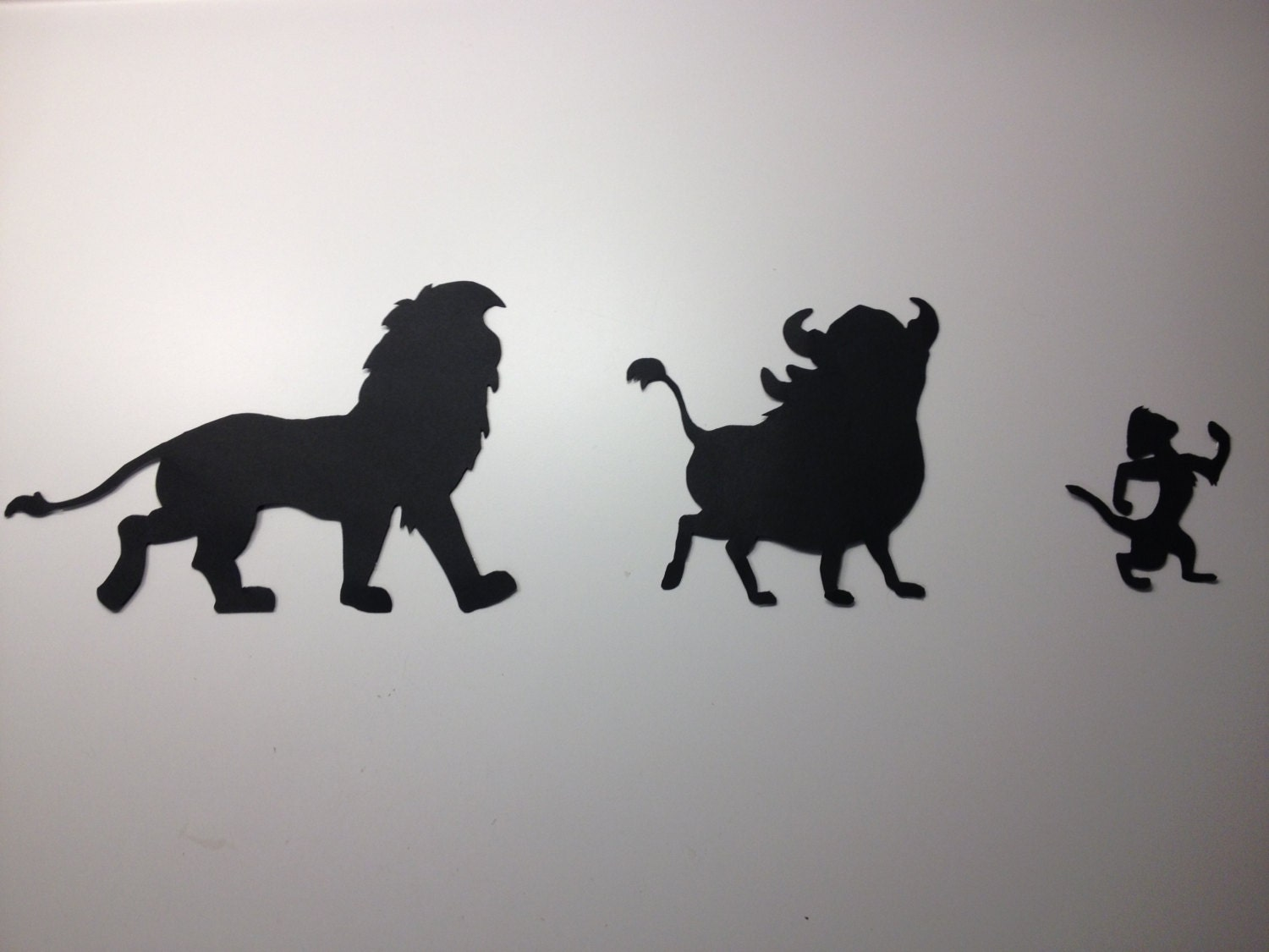 Lion King Silhouettes Disney Silhouette Cut Out Designs Wall Decor By